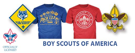 boy scouts of america custom gear