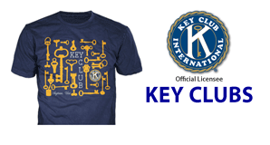 key club custom t-shirts